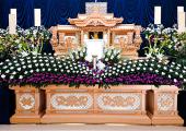 ご葬儀花祭壇